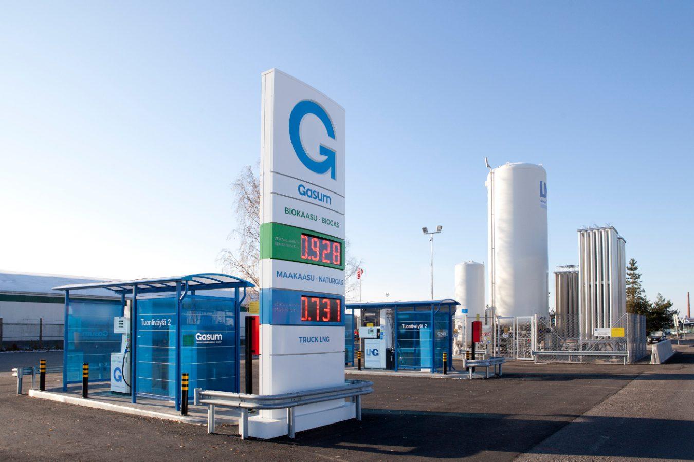 IKEA foodwaste gets a new life as pure Gasum biogas