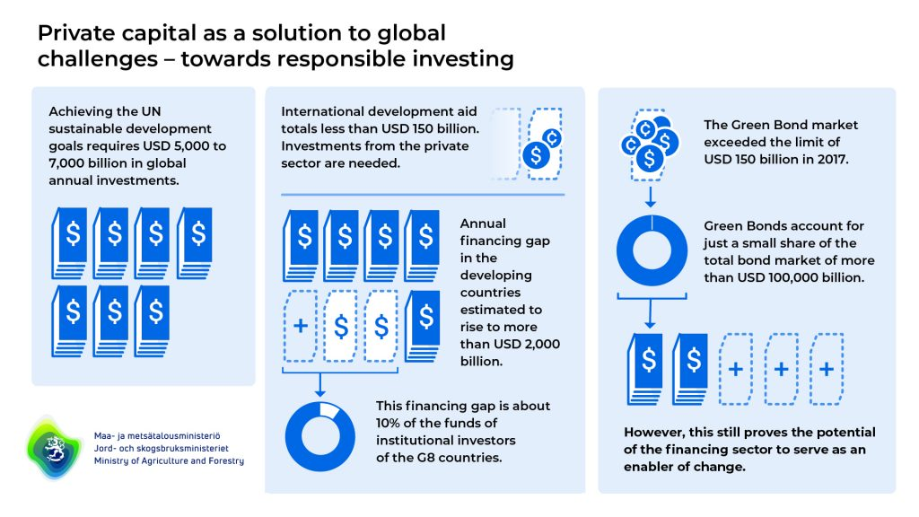 Private capital as a solution to global challenges - towards responsible investing.