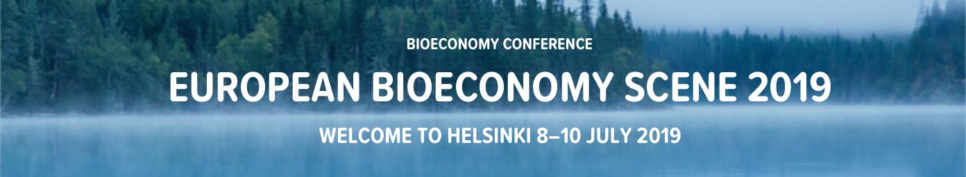 European Bioeconomy Scene 2019 banner