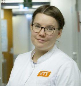 Doctoral student Anna Ylinen.