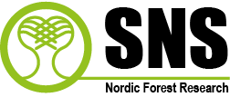 Logo of SNS Nordic Forest Research.